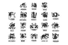 Save Wild Animal Logo Design S...