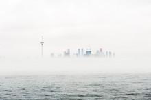 Toronto Skyline Peaks Out Abov...