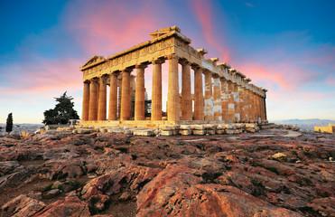 Partenon na Akropoli, Atena, Grčka. Nitko
