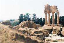 Columns At Agrigento, Sicily