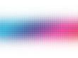 canvas print picture Abstract colorful circles halftone