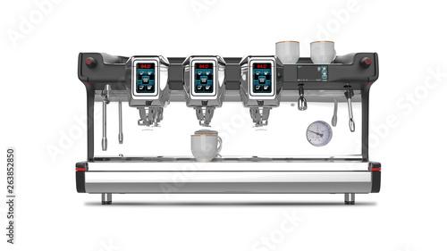 Fotografie, Obraz  Professional Espresso Coffee Machine