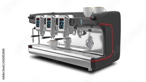 Fotografie, Obraz  Espresso Coffee Machine