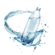 Vector Illustration Of Water S...