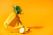 Handmade Paper Pineapple, Bana...