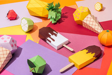 Origami Ice Cream And Handmade...