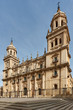 Jaen cathedral facade reinassence period. Travel in Spain
