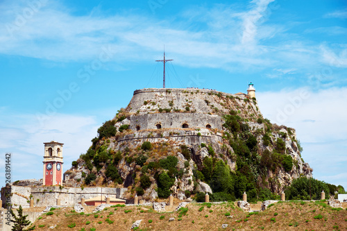 Fotografía The Old Fortress of Corfu is a Venetian fortress in the city of Corfu