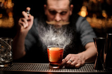 Brutal Bartender Pours An Alco...