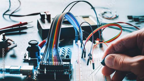 Pinturas sobre lienzo  Microcontroller innovation