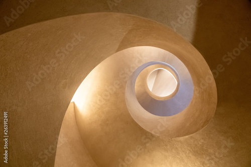Obraz Modern spiral staircase - fototapety do salonu
