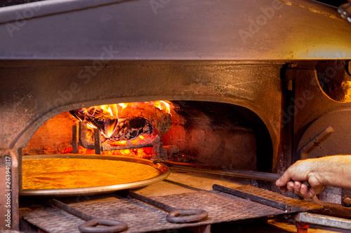 Fotografia, Obraz  Farinata di ceci, specialità gastronomica