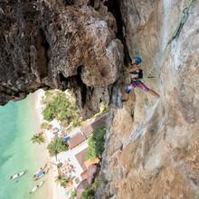 Thailand, Krabi, Tonsai Beach,...