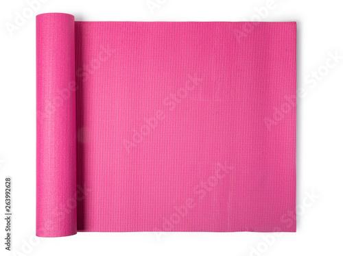 pink yoga mat - 263992628