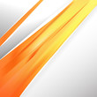 Abstract Orange Business Background Template