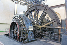 Vintage Mine Winding Machinery