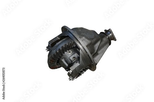 Differential rear axle of the car Canvas Print