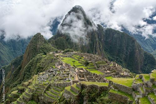 Machu Picchu, Peru with Montana Waynapicchu in the background