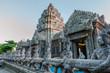 Leinwanddruck Bild - The ancient temple of Wat Sri Sawai