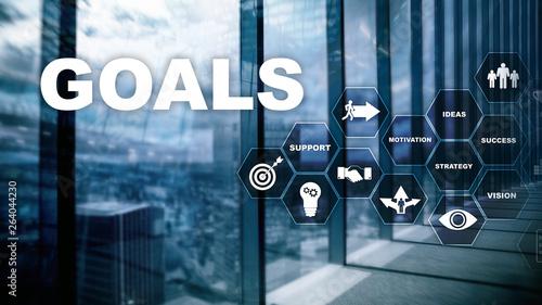Fotografia, Obraz Target Goals Expectations Achievement Graphic Concept