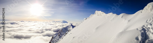 Photo A Heavenly Panorama from atop Huayna Potosi in Bolivia