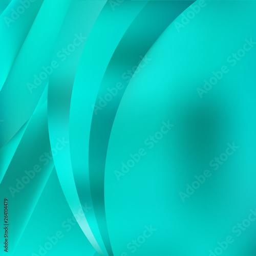 Foto op Aluminium Groene koraal Mint Green Background Graphic