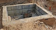 Concrete Bunker For Sewage Val...