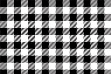 Black Gingham Pattern Backgrou...