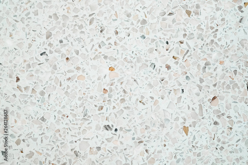 Terrazzo polished stone floor and wall pattern and colour surface marble and granite stone, material for decoration background texture Canvas Print