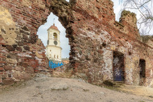 Medieval Abandoned Church And ...