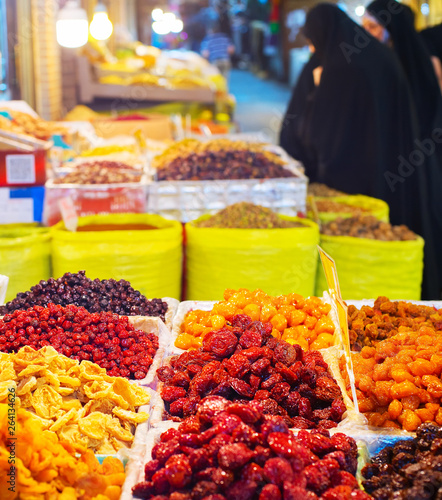 Dried fruits at Grand Bazaar