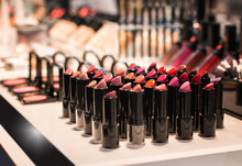 Different Colors Of Lipstick A...