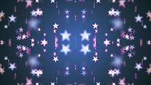 Symmetrical Shiny Stars Patter...