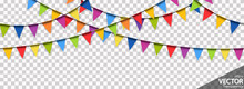 Seamless Colored Garlands Part...