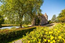 France, Auvergne,Chateau D'Auzers.