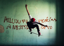 Young Skateboarder Caught In P...