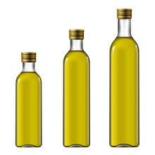 Olive Oil Bottle Mock-up