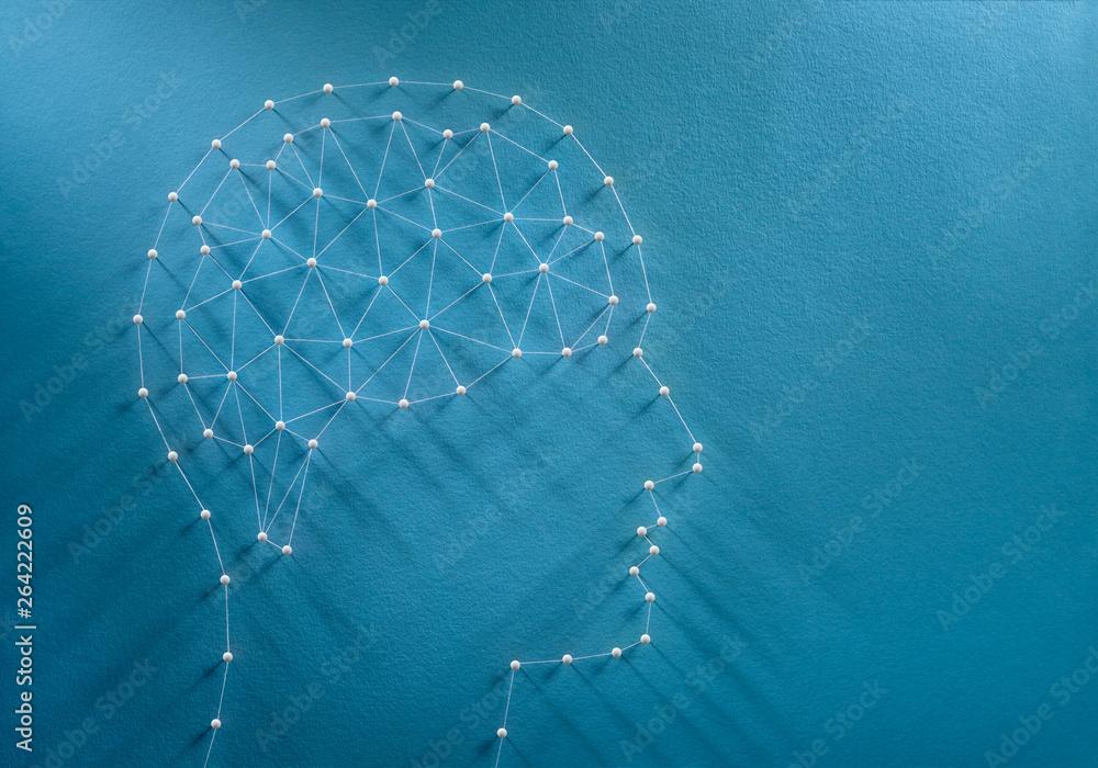 Fototapety, obrazy: Brain synapses concept