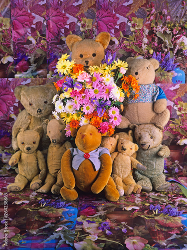 Teddy Bears Specially for you on your.....Mothers day, .Birthday, Special Day, With Love, Be Happy or on a special occassion from the gang