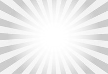 Vector Of Grey Sun Burst Ray B...