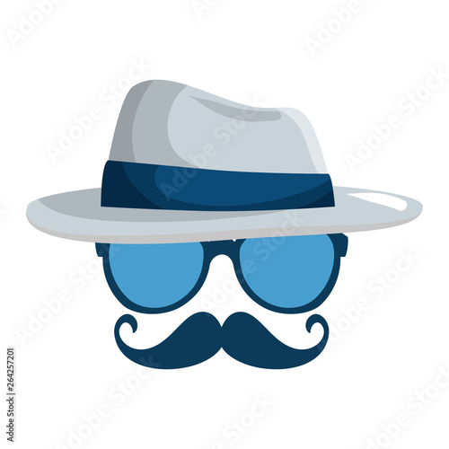 eyeglasses-and-mustache-with-tophat-hipster-style