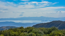 Costa Rica, Panorama Of The Nicoya Bay, View From The Monteverde Mountains
