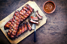 Barbecue Spare Ribs St Louis C...