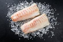 Raw Norwegian Skrei Cod Fish F...