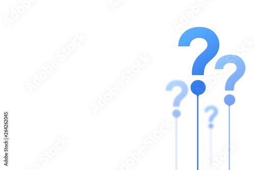 Fotografía Question mark concept