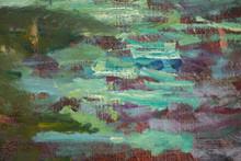 Water Lilies - Monet Detail