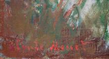 Claude Monet's Signature