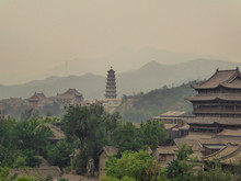 A Polluted City Of China, In T...