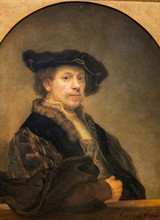 Rembrandt - Self Portrait At Age 34