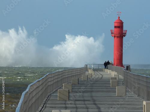 Fotografía tempête boulogne sur mer